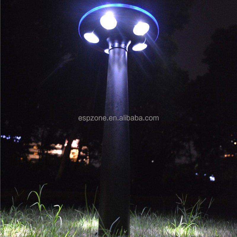 2016 New mushroom solar garden lights with CE certificate