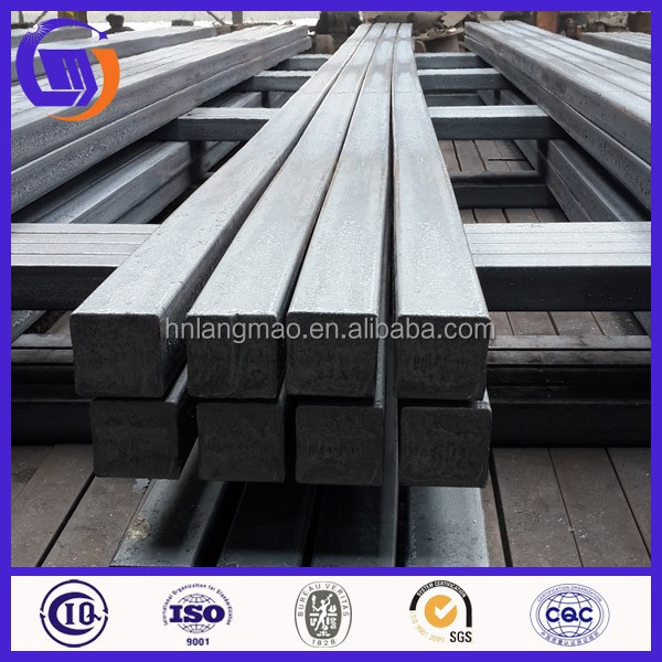 Continuous casting and rolling iron steel billets