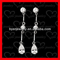 925 sterling silver heart shape earrings with pearl with hand pronged stone and 18K gold plating