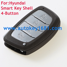 4Buttons Car Key Shell For Hyundai IX35 IX25 Remote Key Shell Smart Key Case cover Replacement