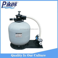2016 swimming pool water pump with sand filter combo