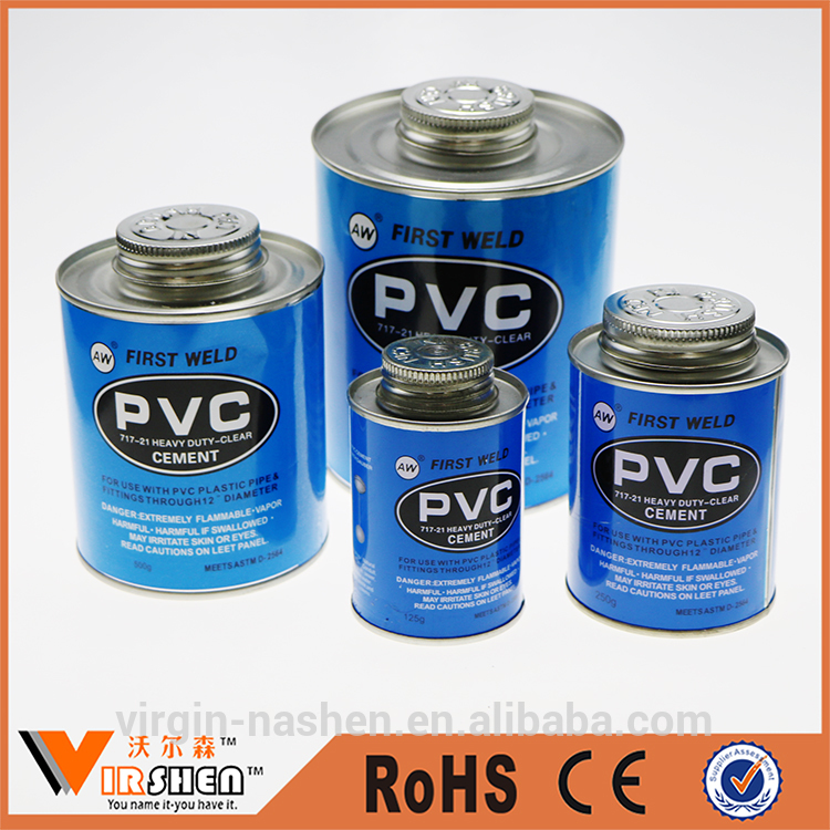 Clear Pvc Pipe Cement / UPVC Pipe Glue / Pvc solvent Cement