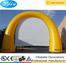 DJ-GM-47 outdoor pvc inflatable entrance arch inflatable advertising arch factory outlet