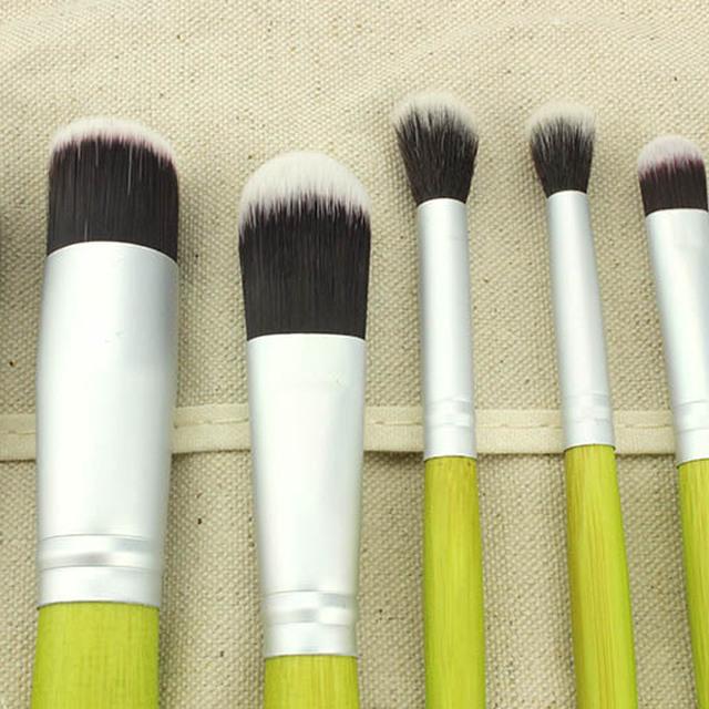chinese cosmetics 23Pcs Soft Makeup Brush Sets Foundation Brushes eye makeup brush set green handle makeupbrushes