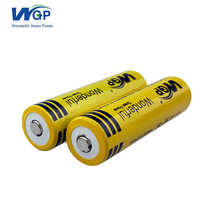 WGP 18650 3.6V/3.7V li-ion battery Cylindrical rechargeable lithium ion battery cell with PCB