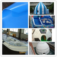 pvc fabric for inflatable boat, swimming pool, covered ball, air bed,sofa chair, toy