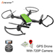 Bricstar professional flying toys cheap GPS drone long range, quadcopter drone FPV GPS with 720P camera