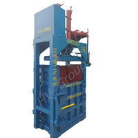 Used Clothes And Textile Compress Baler