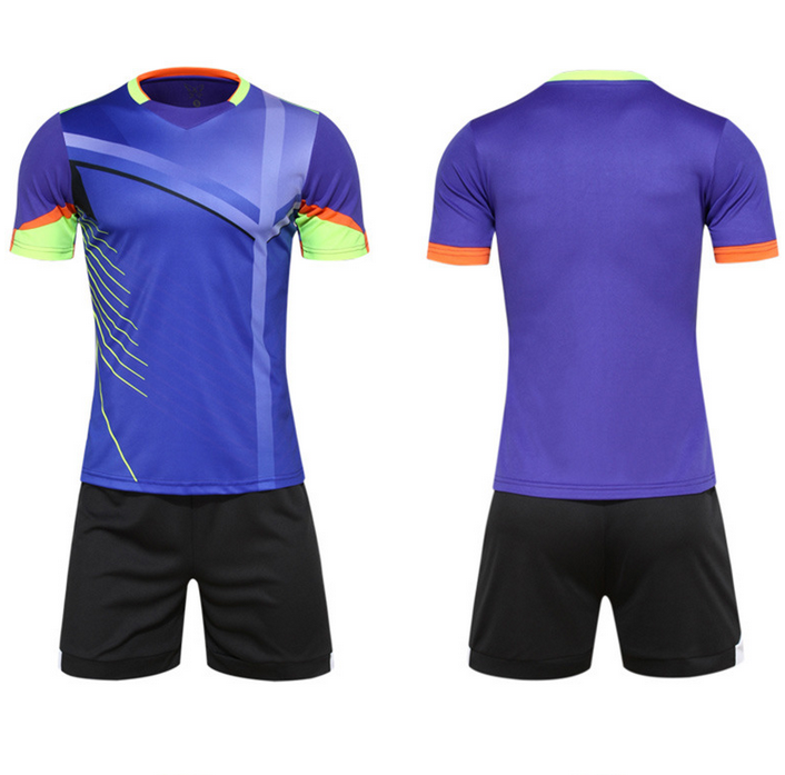 Custom logo team number  quality wholesale men soccer jersey