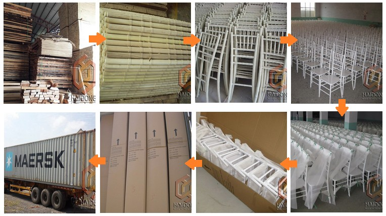 Wood Chiavari-Production Process