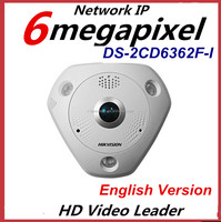 HIkvision DS-2CD6362F-I 6MP Fisheye p2p Network Camera Fiber Optic Surveillance Camera