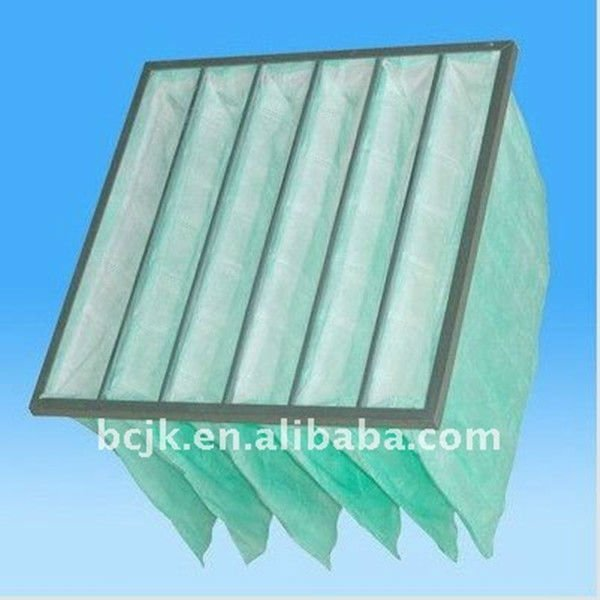 non-woven fabric filter/synthetic fiber pocket filter/bag filter mendia