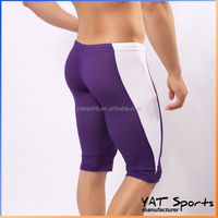 MMA training fitness gym sportswear Custom Compression Short Tight, Men's Compression Shorts