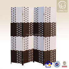 woven foldable wall home folding decorative wood partition wall