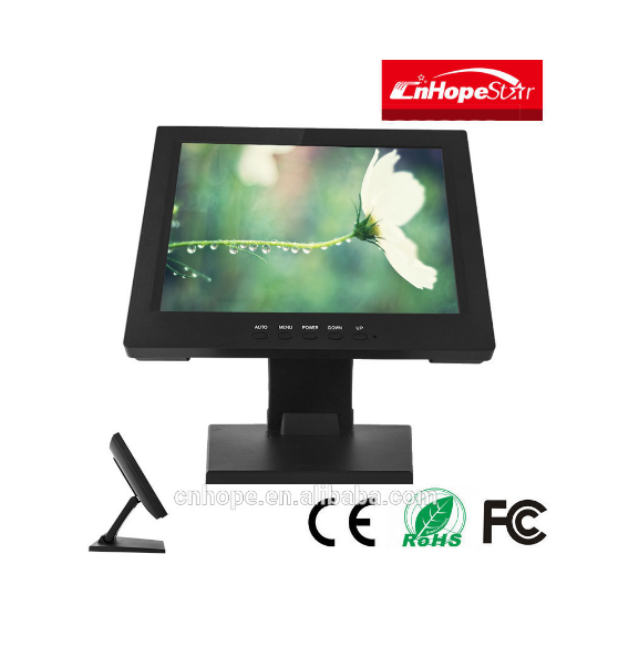 Cheapest 10 inch lcd 5 wire Resistive touch screen computer monitor