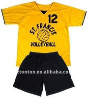 custom men's volleyball uniform