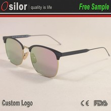 1:1 Wholesale women sunglasses smart city vision branded china fashion sunglasses with your logo
