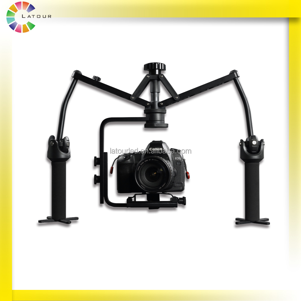 Best stability professional dslr camera steadicam 2-axis handheld video stabilizer mini gimbal for camera