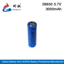 3.7v cylinder lithium ion 3500mah tablet pc battery ICR 26650 li-ion battery