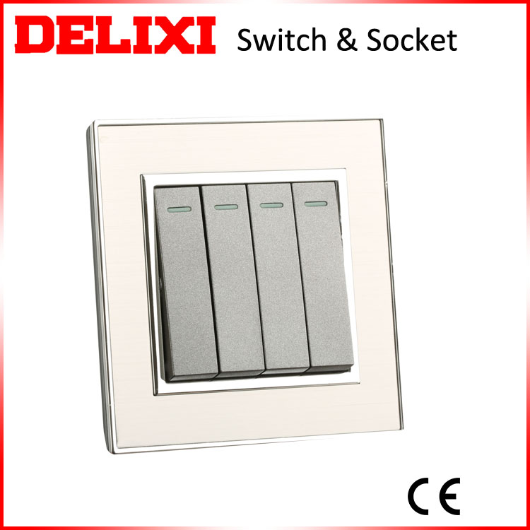DELIXI wholesales good price N1 series metal surface BS electrical switch