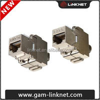 FTP cat5e, cat6, cat6a, cat7 rj45 keystone jacks
