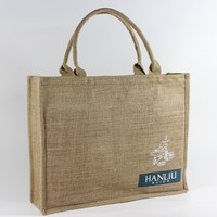 Wholesale customized cheap jute bag