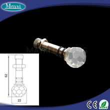EP-011 K9 crystal Copper material steel fitting of optic fiber light