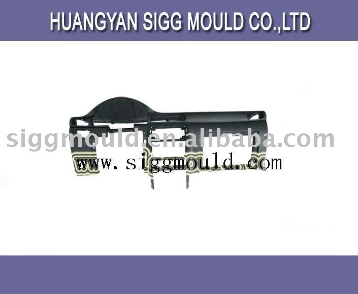 high quality plastic injection mold auto dashboard