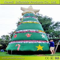 Super quality inflatable coconut tree With customized packing