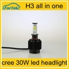 car h3 led headlight bulbs high power car led lamp led lamp car