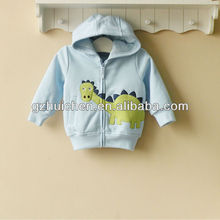 mom and bab 2013 baby clothes 100% cotton boy hoodie