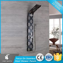 Latest Product Of China Steel Bathroom Fitting Shower Panel