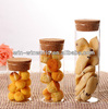 Healthy Airtight Glass Storage Jar With Cork Lid