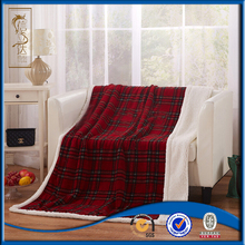 classical plaids printed cable knit sherpa throw 2ply blanket plush to sherpa