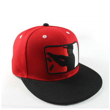 Two Tone Embroidery Custom Snap back Cap