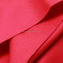 Prompt delivery red nylon acrylic wool blend fabric