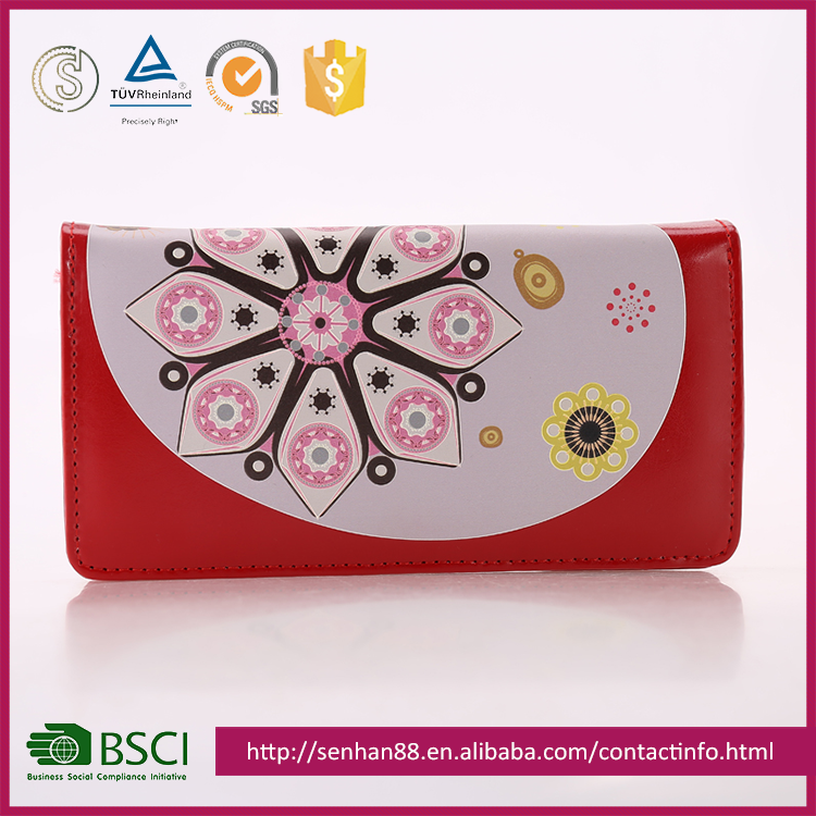 China Supplier Wholesale Lady Women Change Purse/Wallet