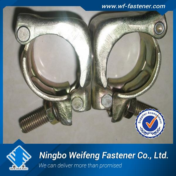 pressed fixed/swivel scaffolding clamp/coupler/fittings BS1139/EN74 ,swivel scaffold clamp