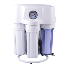 Residential RO water purifier machine with proof and pressure gauge