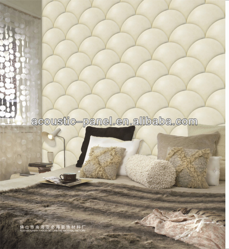 3D Sound Absorbing Material New Design Interior Decorative Panel Wall
