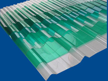 low cost and easy installation corrugated plastic roof panels