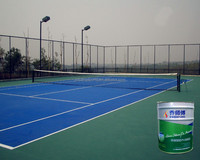 Silicone Polyurethane Court Surface Paint for indoor and outdoor basketball/ volleyball/badminton/ tennis court floor