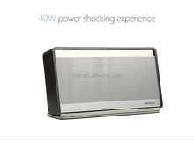 2015 new design OEM / ODM multifunctional high end 40w 2600mah battery speaker bluetooth speaker with usb charger