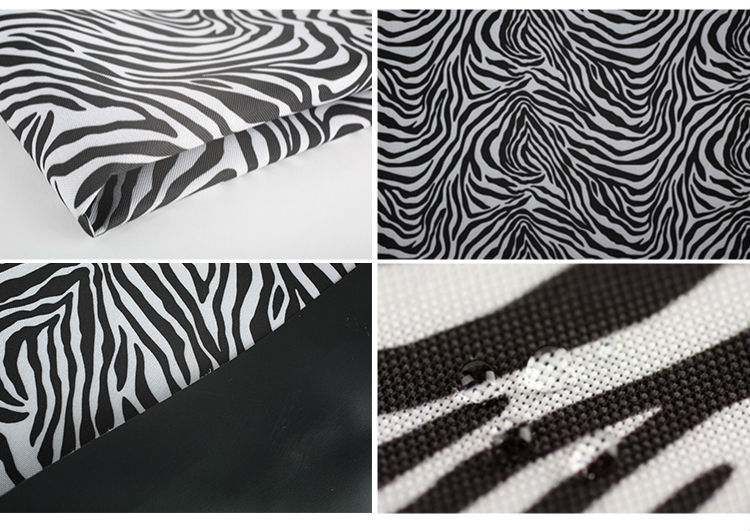 Waterproof Material PVC coated digital printing in polyester fabric for cushion cover