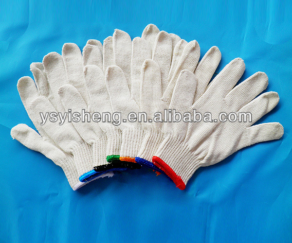 working safety white work gloves sialkot