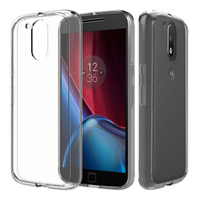 For Moto G 4th Case Clear PC Back Panel TPU Bumper Hybrid Case Full Body Protective Cover for Motorola Moto G 4th Generation