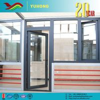 Hot sale top quality custom designs frame plate glass window prices