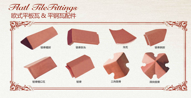 Hot sale Ceramic Roof tile building material