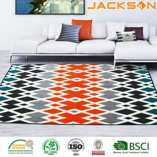 High quality cheapest modern wavy circles area waterproof rug pad