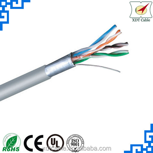 OEM 305M 0.5BC 24AWG FTP rg6 cat5e hybrid cable